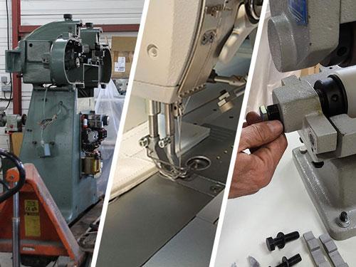 Conseil, vente et entretien de machines de maroquinerie