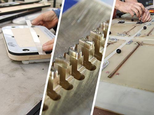 Outils pour le travail du cuir fabriqués par BFM