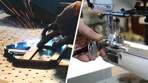 Outils et machines pour le cuir BFM