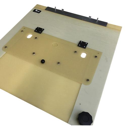 Clamps gabarit de piqûre sur automate fabriqué par BFM