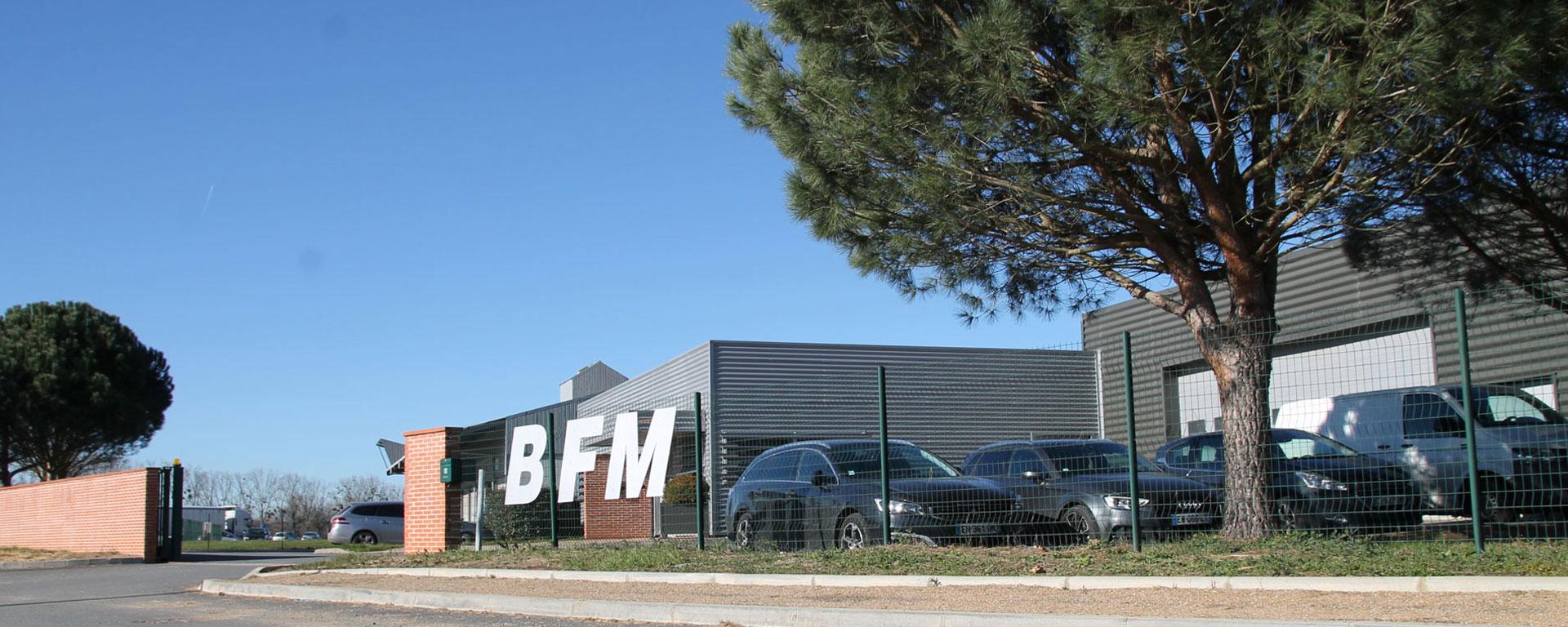 Locaux de l'entreprise BFM - vue exterieure