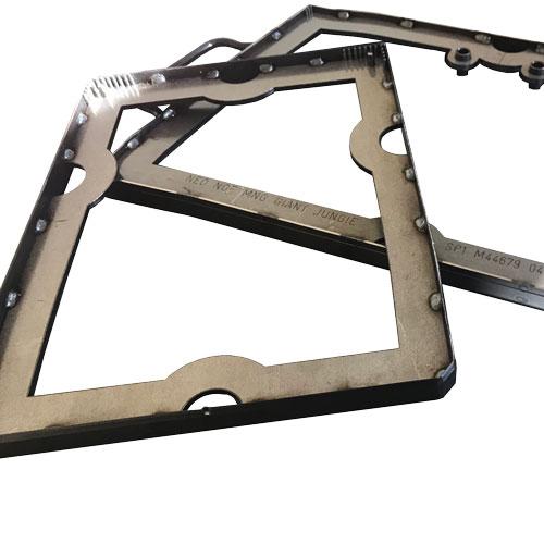 Emporte-pièce mécano-soudé pour découpe cuir fabriqué par BFM