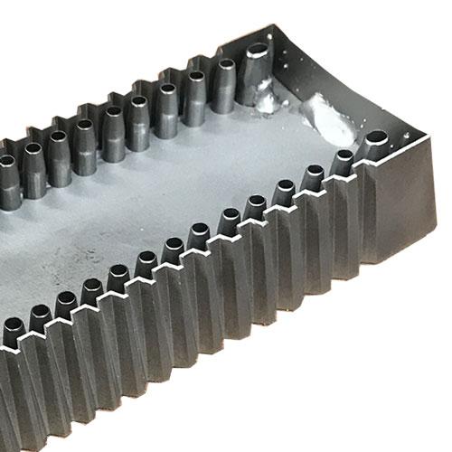 Outil usiné pour la découpe de cuir fabriqué par BFM